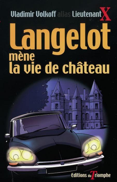 Couverture Langelot mène la vie de château