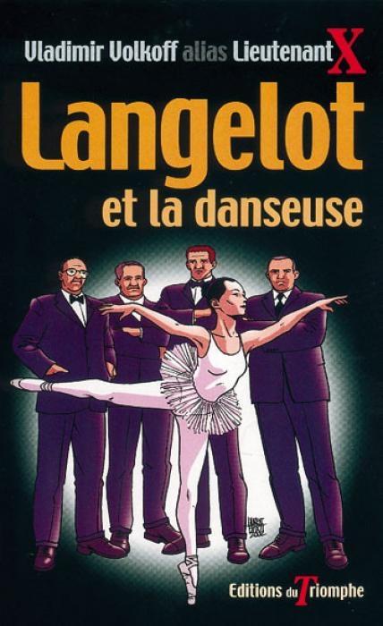 Couverture Langelot et la danseuse