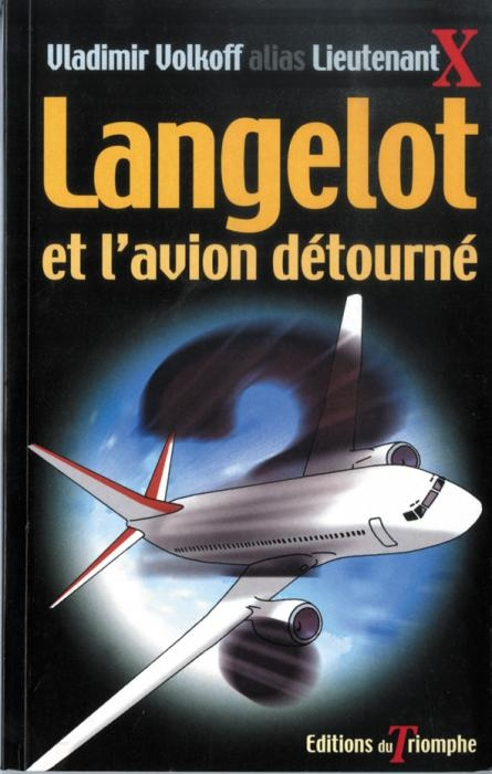 Couverture Langelot et l'avion détourné