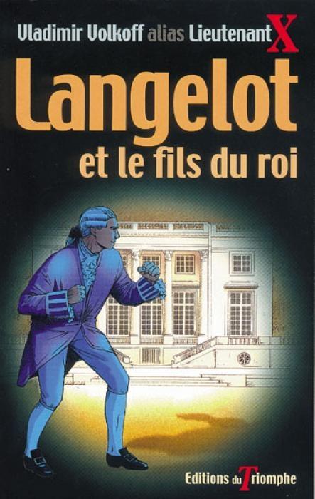 Couverture Langelot et le fils du roi