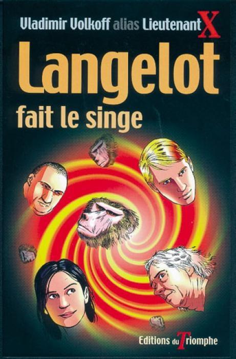 Couverture Langelot fait le singe