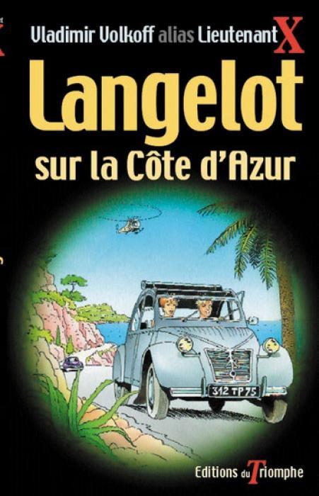 Couverture Langelot sur la Côte d'Azur