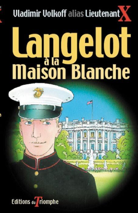 Couverture Langelot à la Maison Blanche