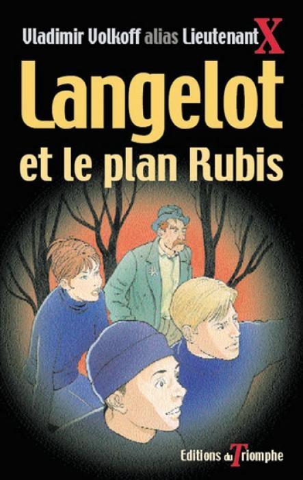Couverture Langelot et le plan rubis
