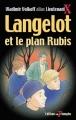 Couverture Langelot et le plan rubis Editions Du Triomphe 2003