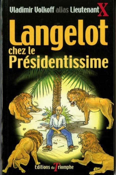 Couverture Langelot chez le Présidentissime