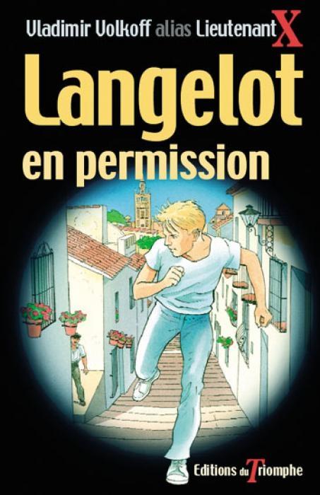 Couverture Langelot en permission