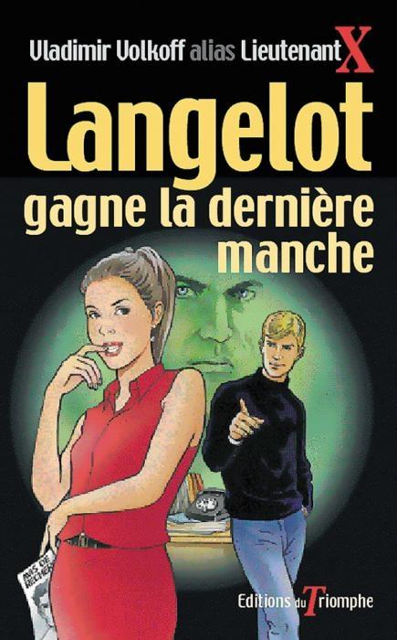 Couverture Langelot gagne la dernière manche