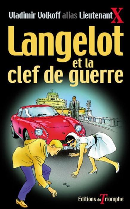 Couverture Langelot et la clef de la guerre