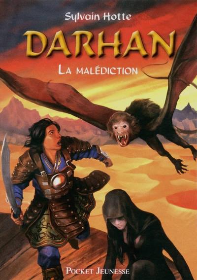 Couverture Darhan, tome 04 : La malédiction