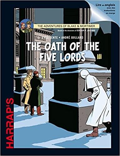 Couverture Blake et Mortimer, tome 21 : Le serment des cinq lords