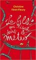 Couverture La fille qui lisait dans le métro Editions Points 2018