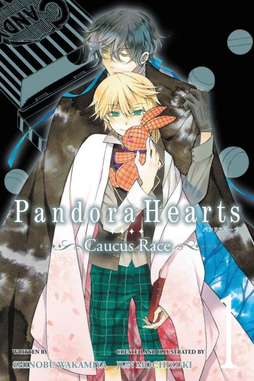 Couverture Pandora hearts : Caucus race, tome 1