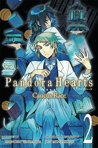 Couverture Pandora hearts : Caucus race, tome 2