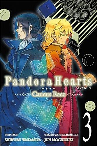 Couverture Pandora hearts : Caucus race, tome 3
