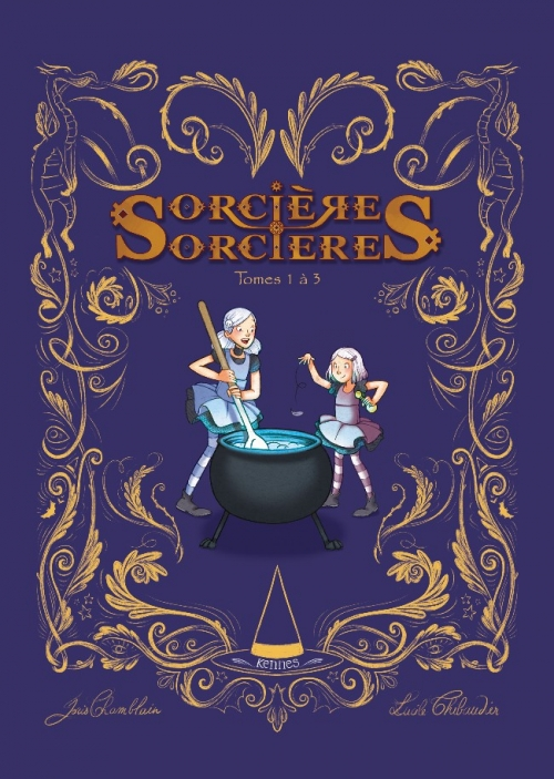 Couverture Sorcières sorcières (BD), intégrale, tomes 1 à 3
