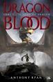 Couverture Dragon blood, tome 1 : Le sang du dragon Editions Bragelonne 2017