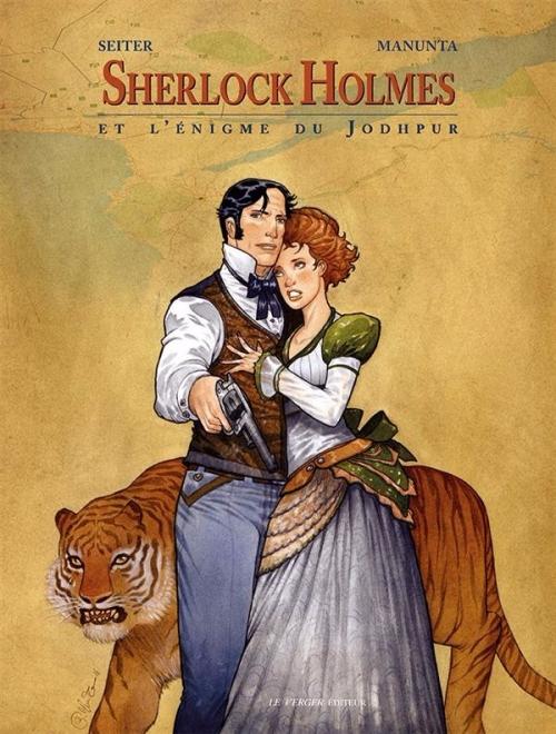 Couverture Sherlock Holmes, tome 3 : Sherlock Holmes et l'énigme du Jodhpur