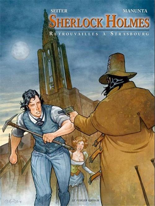 Couverture Sherlock Holmes, tome 2 : Retrouvailles à Strasbourg