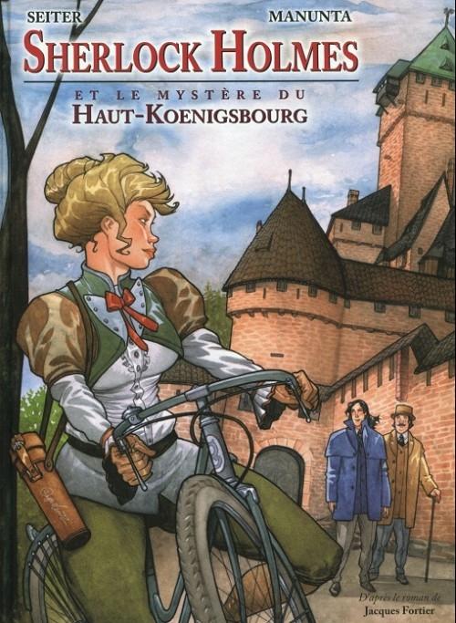 Couverture Sherlock Holmes, tome 1 : Sherlock Holmes et le mystère du Haut-Koenigsbourg