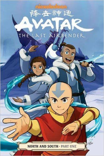 Couverture Avatar: The Last Airbender: North and South, book 1