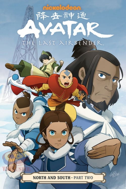 Couverture Avatar: The Last Airbender: North and South, book 2