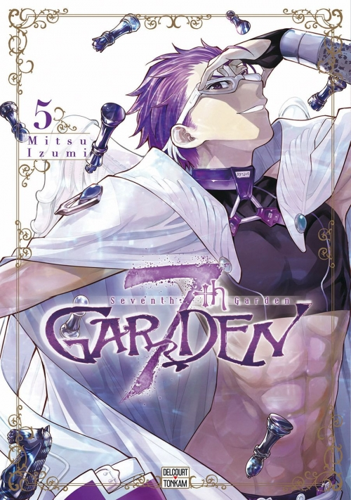 Couverture 7th Garden, tome 5