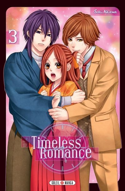 Couverture Timeless romance, tome 3