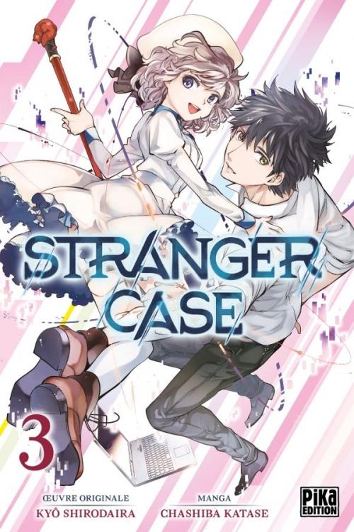 Couverture Stranger case, tome 03
