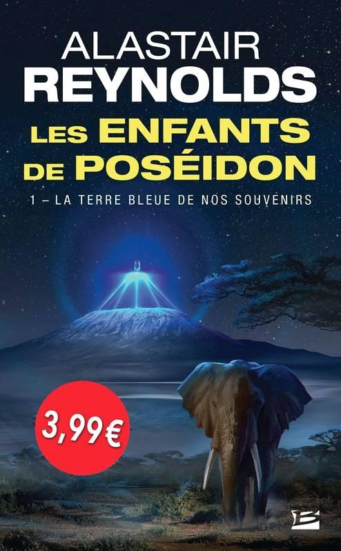 Couverture Les enfants de Poséidon, tome 1 : La terre bleue de nos souvenirs