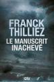 Couverture Le manuscrit inachevé Editions 12-21 2018