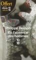 Couverture En l'absence des hommes Editions 10/18 2009