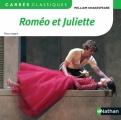 Couverture Roméo et Juliette Editions Nathan (Carrés classiques) 2015