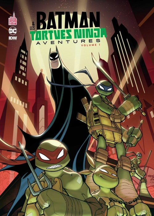 Couverture Batman & Les Tortues Ninjas Aventures