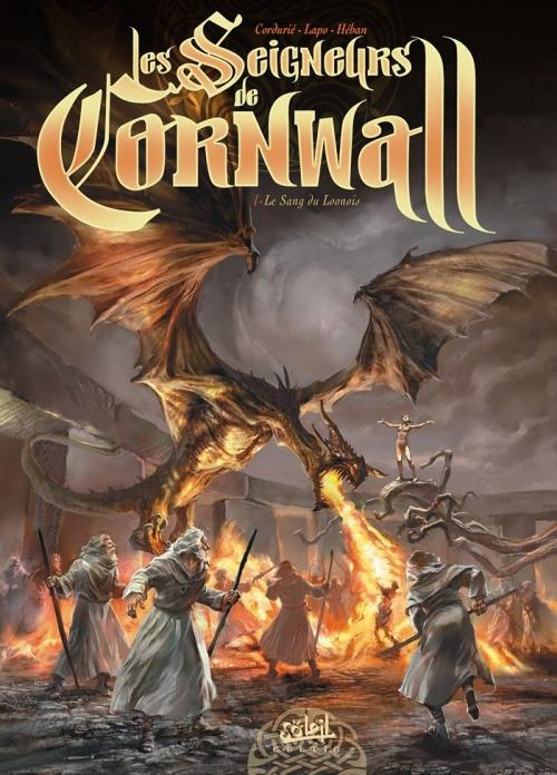 Couverture Les seigneurs de Cornwall, tome 1 : Le sang du Loonois