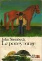 Couverture Le poney rouge Editions Folio  1987