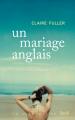 Couverture Un mariage anglais Editions Stock (La Cosmopolite) 2018