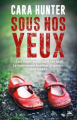 Couverture Sous nos yeux Editions Bragelonne (Thriller) 2018