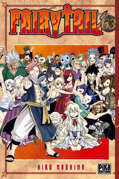 Couverture Fairy Tail, tome 63