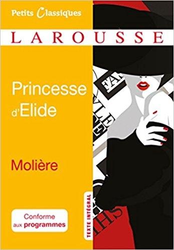 Couverture La princesse d'Elide