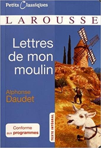 Couverture Lettres de mon moulin