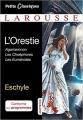 Couverture L'Orestie : Agamemnon, Les Choéphores, Les Euménides Editions Larousse (Petits classiques) 2017