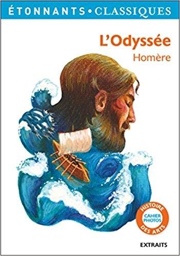 Couverture L'Odyssée, abrégée