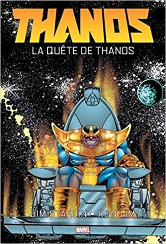 Couverture Thanos : La Quête de Thanos
