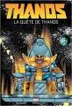 Couverture Thanos : La Quête de Thanos Editions Panini (Marvel Graphic Novels) 2018