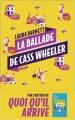 Couverture La ballade de Cass Wheeler Editions Les Escales 2018