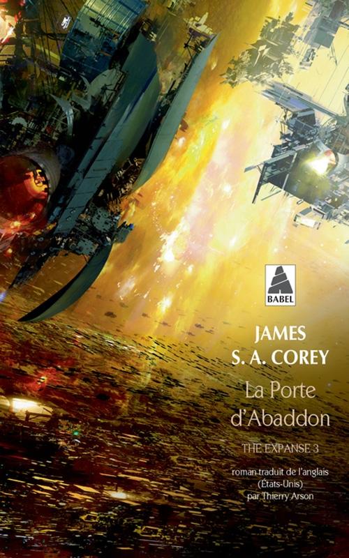 Couverture The expanse, tome 3 : La porte d'Abaddon