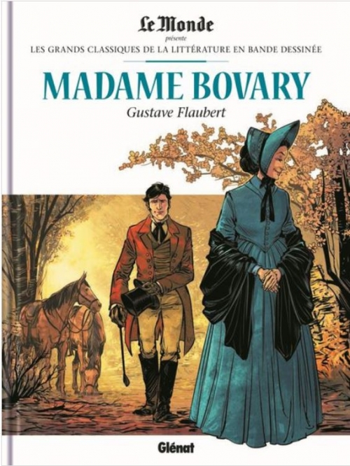 Couverture Madame Bovary (BD)