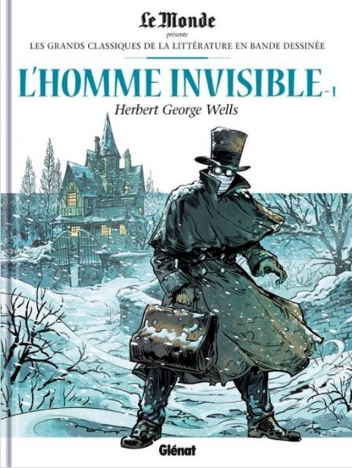 Couverture L'homme invisible, tome 1
