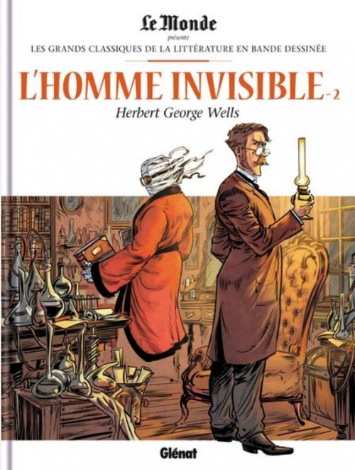 Couverture L'homme invisible, tome 2